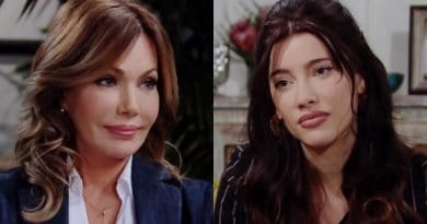 Bold and the Beautiful Spoilers: Taylor Hayes (Hunter Tylo) - Steffy Forrester (Jacqueline MacInnes Wood)