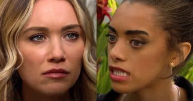 Bold and the Beautiful Spoilers: Florence Fulton (Katrina Bowden) - Zoe Buckingham (Kiara Barnes)