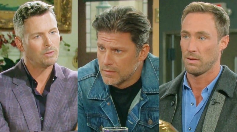Days of Our Lives Spoilers: Brady Black (Eric Martsolf) - Eric Brady (Greg Vaughan) - Rex Brady (Kyle Lowder)