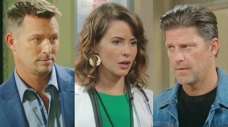 Days of Our Lives Spoilers: Brady Black (Eric Martsolf) - Sarah Horton (Linsey Godfrey) - Eric Brady (Greg Vaughan)