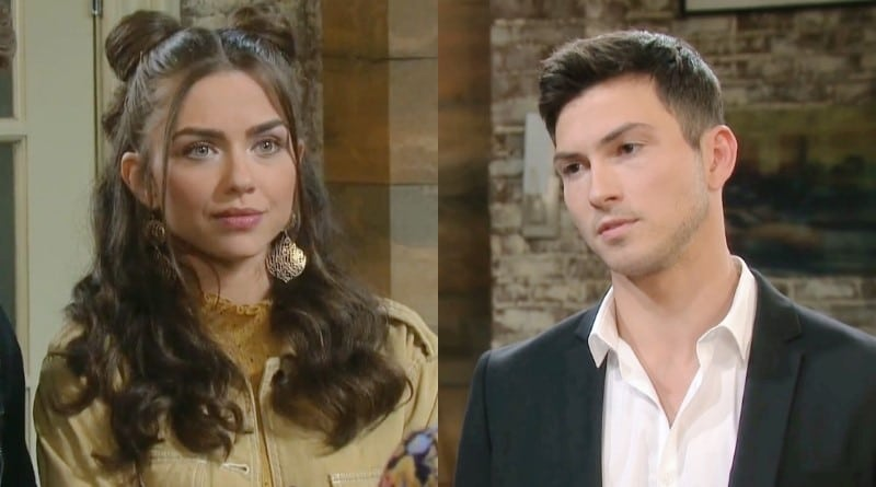 Days of Our Lives Spoilers: Victoria Konefal (Ciara Brady) - Ben Weston (Robert Scott Wilson)