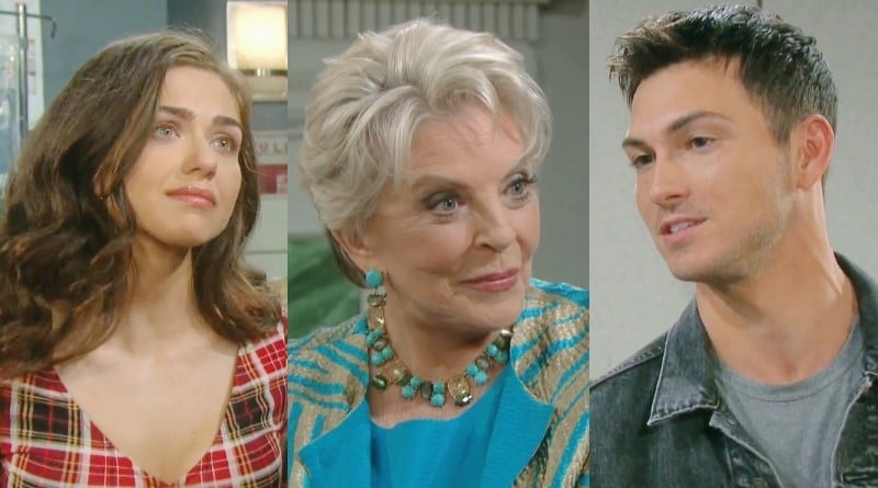 Days of Our Lives Spoilers: Ciara Brady (Victoria Konefal) - Julie Williams (Susan Seaforth Hayes) - Ben Weston (Robert Scott Wilson)
