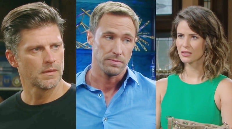 Days of Our Lives Spoilers: Eric Brady (Greg Vaughan) - Rex Brady (Kyle Lowder) - Sarah Horton (Linsey Godfrey)