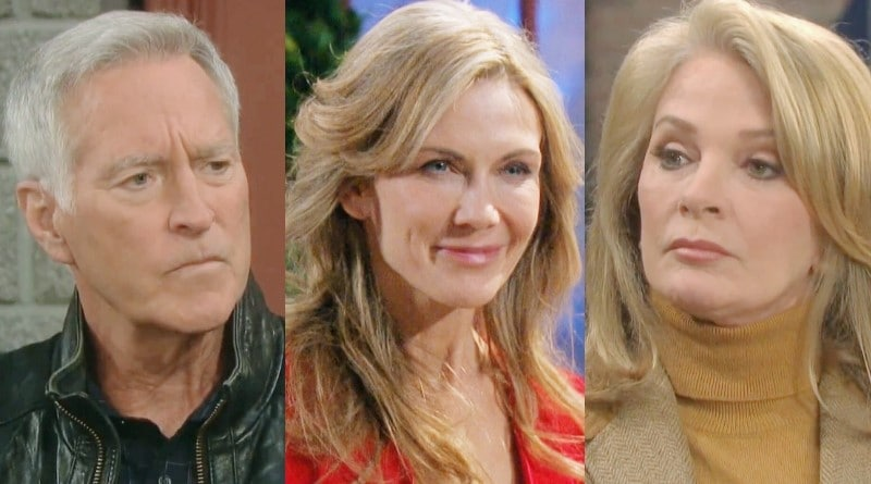 Days of Our Lives Spoilers: John Black (Drake Hogestyn) - Kristen DiMera (Stacy Haiduk) - Marlena Evans (Deidre Hall)