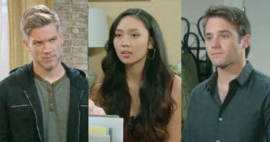 Days of Our Lives Spoilers: Tripp Dalton (Lucas Adams) - Haley Chen (Thia Megia) - JJ Deveraux (Casey Moss)