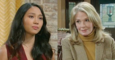 Days of Our Lives Spoilers: Haley Chen (Thia Megia) - Marlena Evans (Deidre Hall)