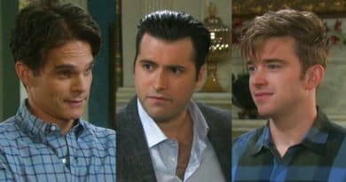 Days of Our Lives Spoilers: Leo Stark (Greg Rikaart) - Sonny Kiriakis (Freddie Smith) - Will Horton (Chandler Massey)