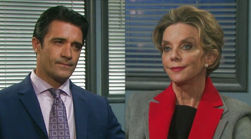 Days of Our Lives Spoilers: Ted Laurent (Gilles Marini) - Diana Cooper (Judith Chapman)
