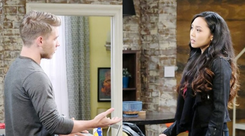 Days of Our Lives Spoilers: Tripp Dalton (Lucas Adams) - Haley Chen (Thia Megia)