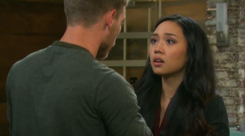 Days of Our Lives Spoilers: Tripp Dalton (Lucas Adams) - Haley Chen (Thia Megia)