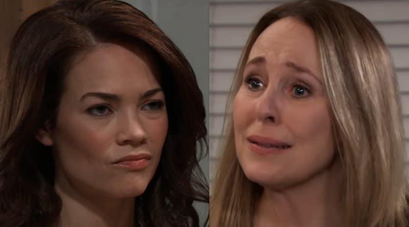 General Hospital Spoilers: Elizabeth Webber (Rebecca Herbst) - Laura Spencer (Genie Francis)