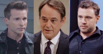 General Hospital Spoilers: Jason Morgan (Steve Burton) - Ryan Chamberlain (Jon Lindstrom) - Drew Cain (Billy Miller)