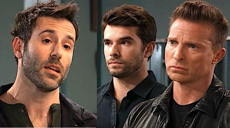 General Hospital Spoilers: Shiloh Archer (Coby Ryan McLaughlin) - Jason Morgan (Steve Burton) - Harrison Chase (Josh Swickard)