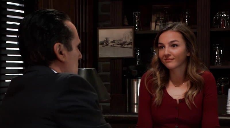 General Hospital Spoilers: Kristina Corinthos (Lexi Ainsworth) - Sonny Corinthos (Maurice Benard)