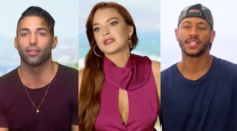 Lindsay Lohan Beach Club Spoilers: Brent Marks - Lindsay Lohan - Kyle Marve