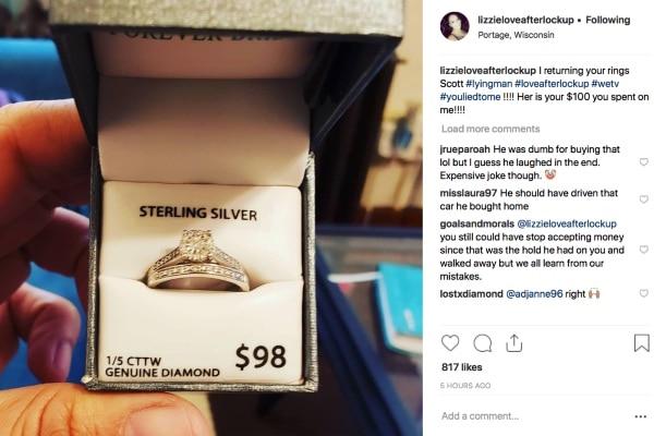 Love After Lockup: Lizzie Kommes Instagram