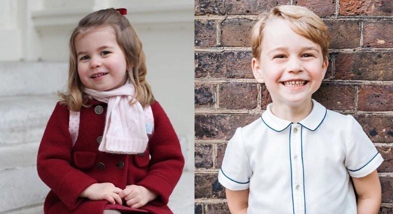 Prince George - Princess Charlotte