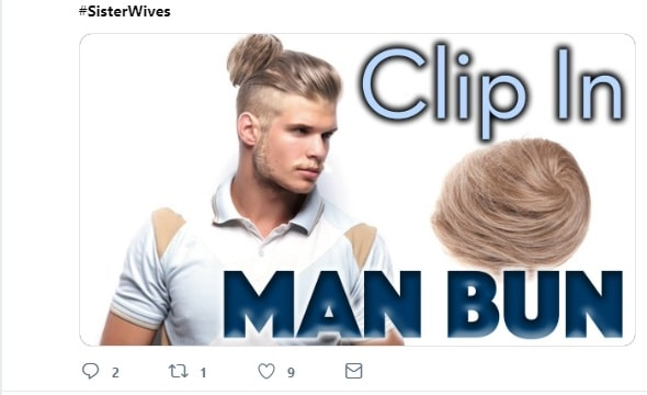 Sister Wives: Kody Brown - Clip-On Man Bun