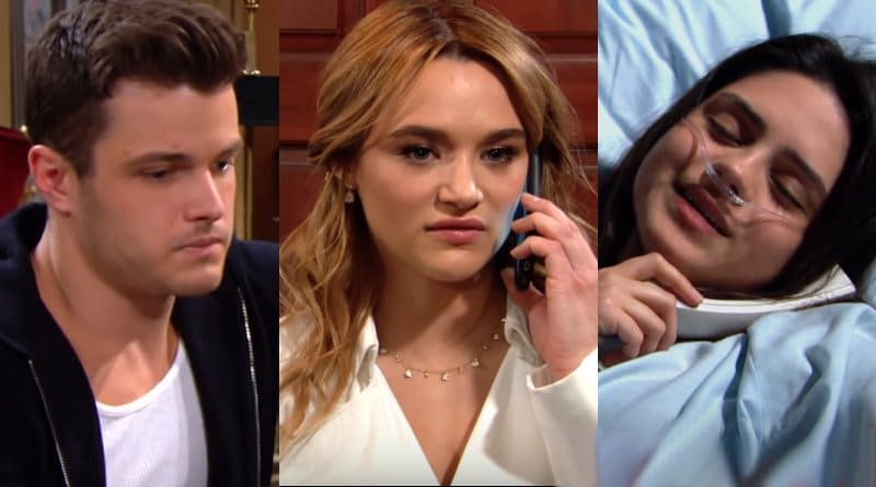 Young and the Restless Spoilers: Lola Rosales (Sasha Calle) - Kyle Abbott (Michael Mealor) - Summer Newman (Hunter King)