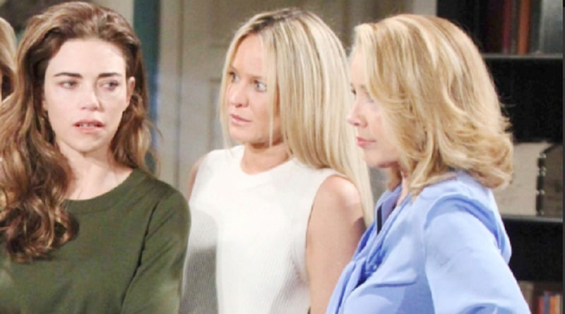 Young and the Restless Spoilers - Nikki Newman (Melody Thomas Scott) - Victoria Newman (Amelia Heinle) - Sharon Newman (Sharon Case)