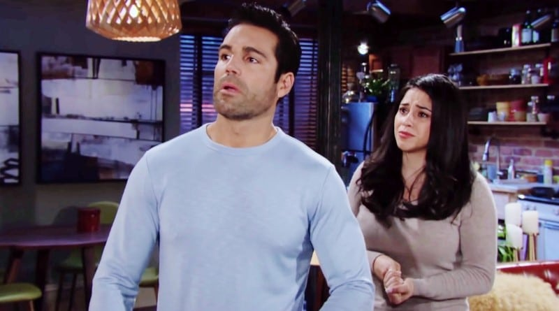 Young and the Restless Spoilers: Rey Rosales (Jordi Vilasuso) - Mia Rosales (Noemi Gonzalez)