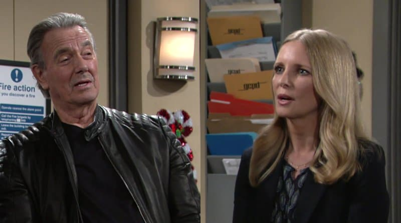 Young and the Restless Spoilers: Victor Newman (Eric Braeden) - Christine Williams (Lauralee Bell)