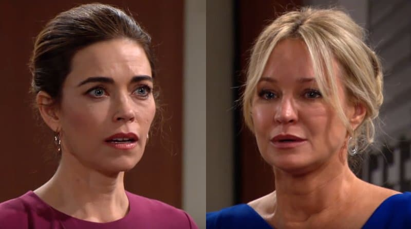 Young and the Restless Spoilers: Victoria Newman (Amelia Heinle) - Sharon Newman (Sharon Case)
