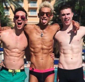 Big Brother: Mike Pophis - Frankie Grande - Daniel Sinasohn