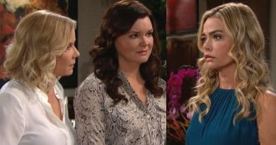 Bold and the Beautiful Spoilers - Brooke Logan (Katherine Kelly Lang) - Katie Logan (Heather Tom) - Shauna Fulton (Denise Richards)