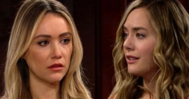 Bold and the Beautiful Spoilers: Flo Fulton (Katrina Bowden) - Hope Logan (Annika-Noelle)