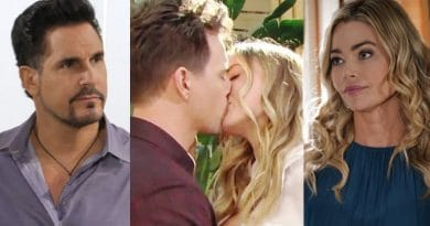 Bold and the Beautiful Spoilers: Wyatt Spencer (Darin Brooks) - Flo Fulton (Katrina Bowden) - Bill Spencer (Don Diamont) - Shauna Fulton (Denise Richards)