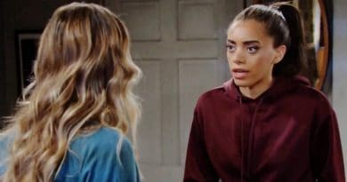 Bold and the Beautiful Spoilers: Flo Fulton (Katrina Bowden) - Zoe Buckingham (Kiara Barnes)