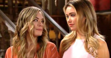 Bold and the Beautiful Spoilers: Hope Logan (Annika Noelle) - Flo Fulton (Katrina Bowden)