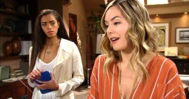 Bold and the Beautiful Spoilers: Hope Logan (Annika Noelle) - Zoe Buckingham (Katrina Barnes)