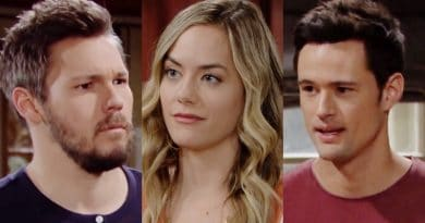 Bold and the Beautiful Spoilers: Liam Spencer (Scott Clifton) - Hope Logan (Annika Noelle) - Thomas Forrester (Matthew Atkinson)