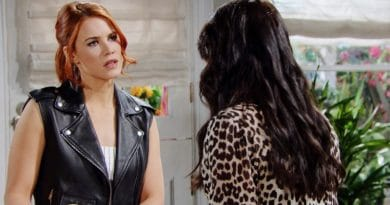 Bold and the Beautiful Spoilers: Sally Spectra (Courtney Hope) - Quinn Fuller (Rena Sofer)