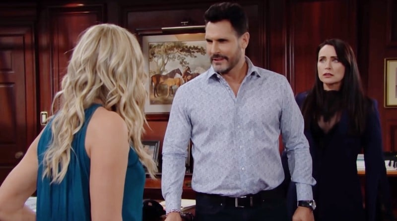 Bold and the Beautiful Spoilers: Shauna Fulton (Denise Richards) - Bill Spencer (Don Diamont) - Quinn Fuller (Rena Sofer)