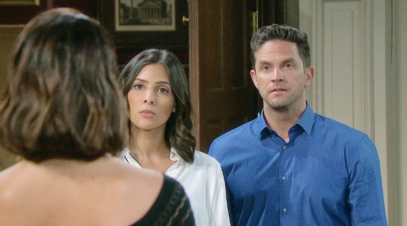 Days of Our Lives Spoilers: Chloe Lane (Nadia Bjorlin) - Gabi Hernandez (Camila Banus) - Stefan DiMera (Brandon Barash)