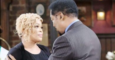 Days of Our Lives Spoilers: Sheila Watkins (Tionne Watkins) - Abe Carver (James Reynolds)