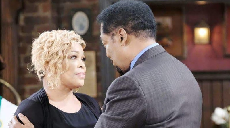 Days of Our Lives Spoilers: Sheila Watkins (Tionne Watkins) - Abe Carver (James Reynolds)
