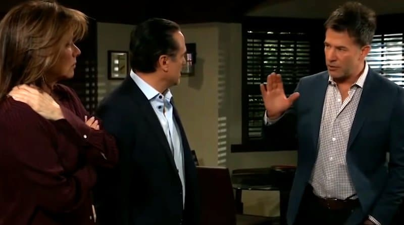 General Hospital Spoilers: Alexis Davis (Nancy Lee Grahn) Sonny Corinthos (Maurice Benard) - Neil Byrne (Joe Flanigan)