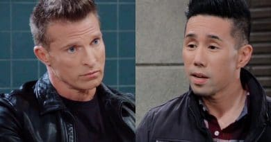 General Hospital Spoilers: Jason Morgan (Steve Burton) - Brad Cooper (Parry Shen)