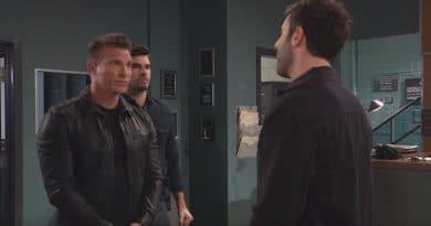 General Hospital Spoilers: Jason Morgan (Steve Burton) Harrison Chase (Josh Swickard) - Shiloh Archer (Coby Ryan McLaughlin)