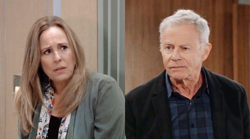 General Hospital Spoilers: Laura Spencer (Genie Francis) - Robert Scorpio (Tristan Rogers)