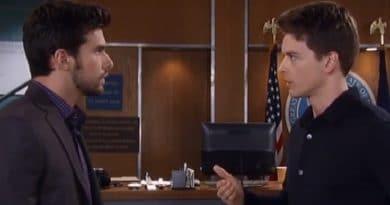 General Hospital Spoilers: Michael Corinthos (Chad Duell) Harrison Chase (Josh Swickard)