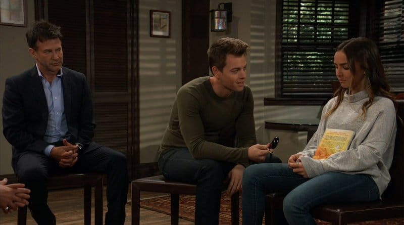 General Hospital Spoilers: Neil Byrne (Joe Flanigan) - Michael Corinthos (Chad Duell) - Kristina Corinthos (Lexi Ainsworth)