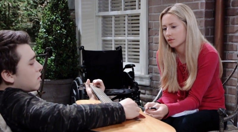 General Hospital Spoilers: Oscar Nero (Garren Stitt) - Josslyn Jacks (Eden McCoy)