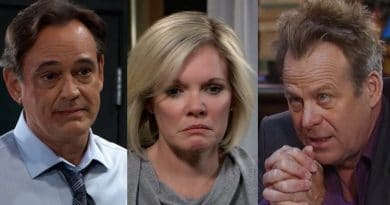General Hospital Spoilers: Scott Baldwin (Kin Shriner) - Ava Jerome (Maura West) - Kevin Collins (Jon Lindstrom)