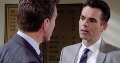 Young and the Restless Spoilers: Jack Abbott (Peter Bergman) - Billy Abbott (Jason Thompson)
