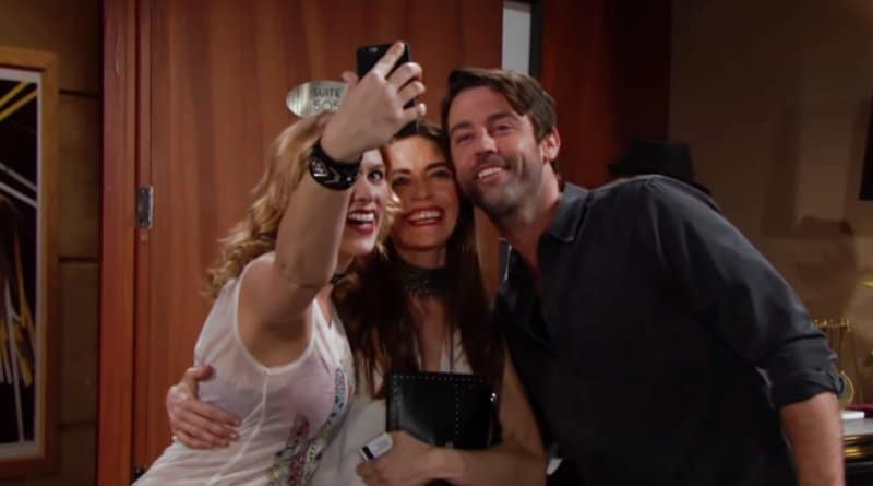 Young and the Restless Spoilers: Victoria Newman (Amelia Heinle) - Brandon (Mitch Eakins)